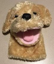 """Aurora Plush 10"""" Garth Golden Retriever Puppy Dog Hand Puppet 3Yrs+ Soft... - $15.83"""