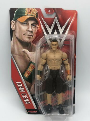 Primary image for JOHN CENA - WWE Mattel Basic Series 65 Wrestling Action Figure Toy NEW DMG PKG