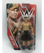 JOHN CENA - WWE Mattel Basic Series 65 Wrestling Action Figure Toy NEW DMG PKG - $13.85