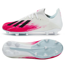 Adidas X 19.3 FG Firm Ground Football Boots Shoes Soccer Cleats White EG... - $99.99