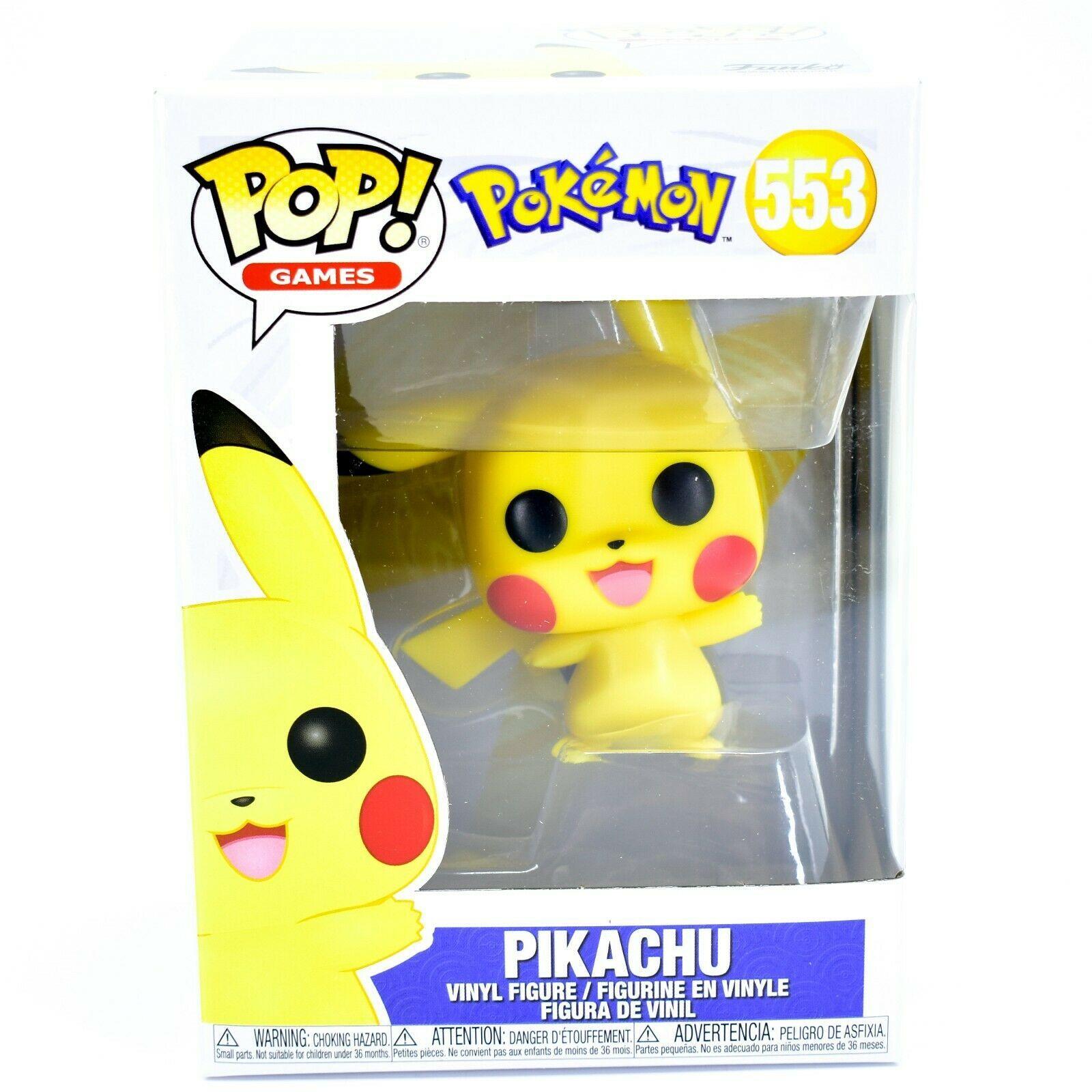 Funko Pop! Games Pokemon Waving Pikachu #553 Vinyl Action Figure
