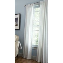 """NEW 2 Pack Light Filtering Window Panel in White 42"""" x 84"""" - $28.50"""