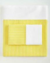 2 Ralph Lauren Bengel Yellow Stripes White Border Standard Pillowcases $115 DISC - $44.99