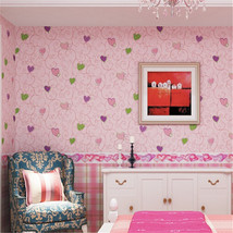 beibehang Colors Modern kid girls mural child wallpaper for living room - $69.95