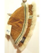 UGG~Australia~Women's Winter Bucket Hat~Genuine Leather~Real Fur Trim - $79.99