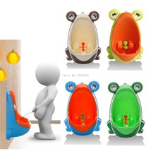 Frog Children Potty Toilet Training Kids Urinal for Boys Pee Trainer Bat... - $15.55