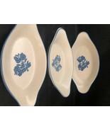 "Pfaltzgraff Yorktowne Design 3 Au Gratin 8"" Dishes 8 OZ #260 - $29.86"