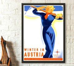 Vintage Austria Travel Print - Vintage Travel Poster Austria Poster Trav... - $16.99+