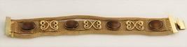 """70's VINTAGE ESTATE Jewelry 7"""" SIGNED CELEBRITY VINTAGE MESH & SCROLL BR... - $10.00"""