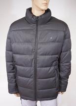Calvin Klein Men Grey Black Quilted Puffer Water Repellent Winter Jacket... - $79.99