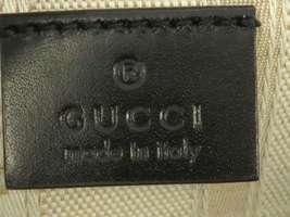 GUCCI Diamente Leather Black Shoulder Bag 354229 One shoulder Italy Authentic image 10