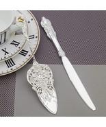 European Classic Silver Cake Knife Shovel Wedding Cutlery Dinnerware Set... - $16.94+