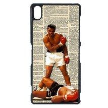 Muhammad Ali Sony Z case Customized Premium plastic phone case, design #11 - $12.86