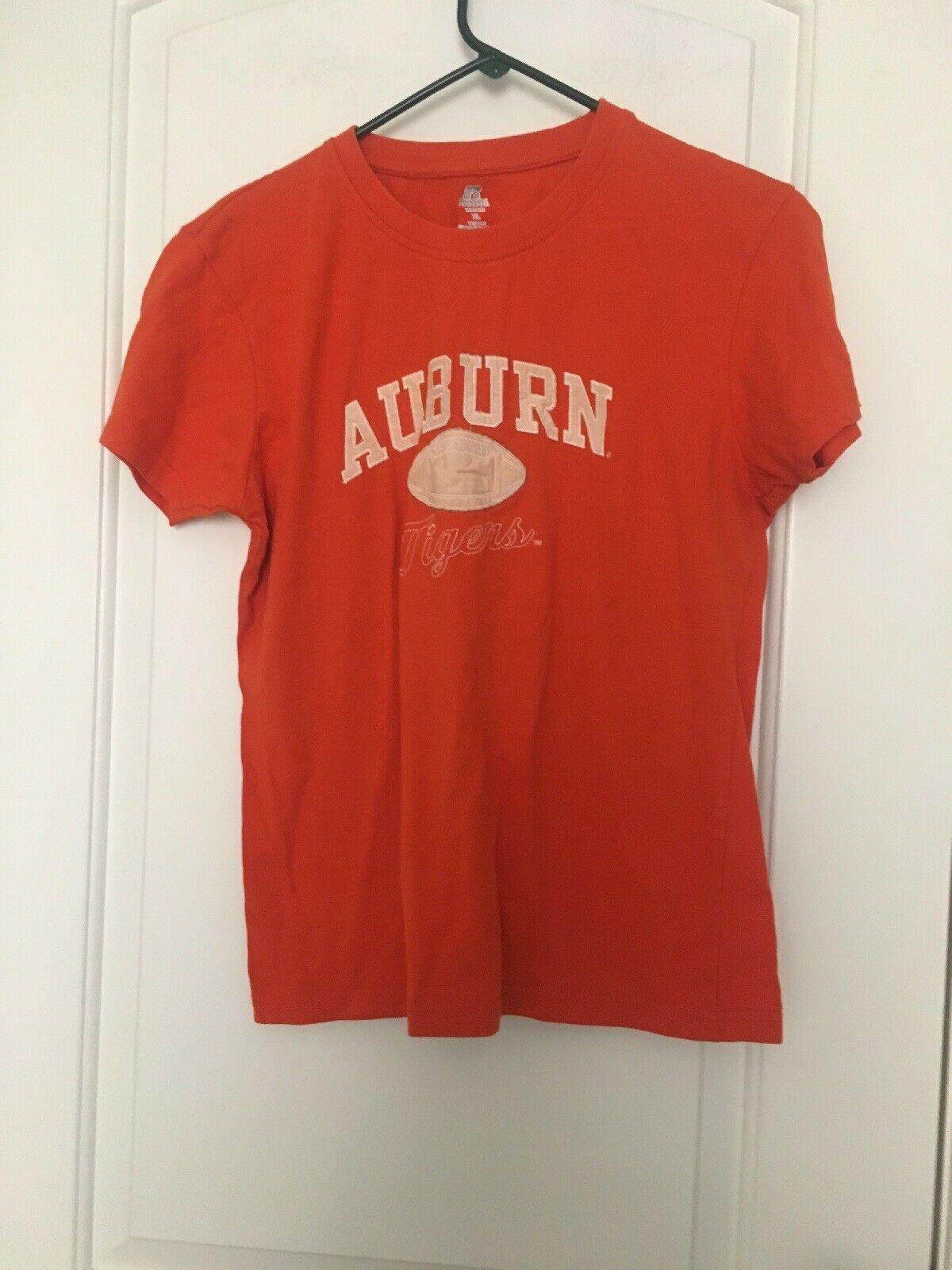 Russell Athletic AUBURN Tigers NCAA Women's Short Sleeve T-Shirt Sz XL Shirt - $30.96