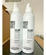 Loreal Tecni Art Volume Envy Extra Mousse 8.2oz *NO LIDS* (2 PACK) Same ... - $33.99