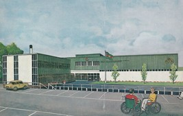 Stoke Mandeville Sports Centre For Disabled Bucks Opening Painting Postcard - $13.99