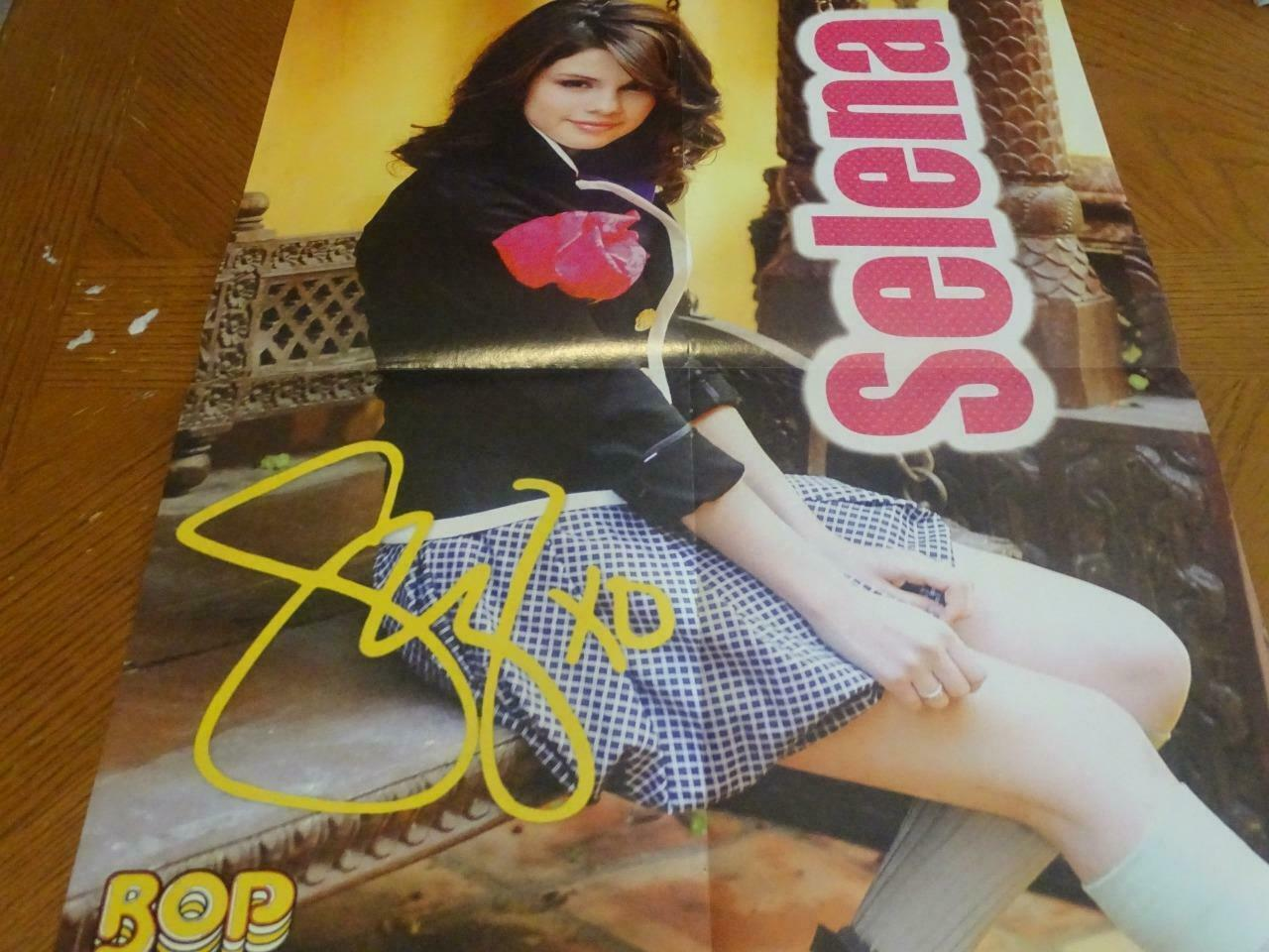 Primary image for Selena Gomez Lucas Till teen magazine poster clipping skirt Bop teen idol