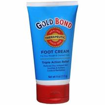 Gold Bond Foot Cream Triple Action Relief - 4 OZ (Pack of 6) - $76.99