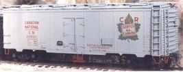 Funaro & Camerlengo HO CN 8 Hatch Reefer w/hinge door dreadnaught ends Kit 5130 image 2