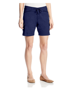 Lee Women's Comfort Fit Stacks Cargo Walkshorts Size 6M Twilight Blue New - $19.99