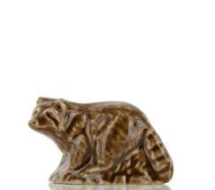 Whimsies Wade England Miniature American Raccoon Brown