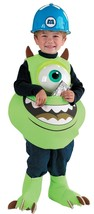 "Toddler 3-6 Monsters Inc Officially Licensed ""Mike the Candy Catcher"" Co... - $39.55"