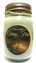 Camp Fire 16oz Country Jar Soy Candles - Handmade in Rolla Missouri - €17,35 EUR