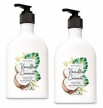 Bath and Body Works 2 Pack Vanilla Coconut Nourishing Hand Soap. 8 Oz - $31.64