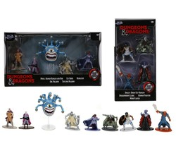 Jada Dungeons & Dragons Figurines  DD 2 Sets Total of 9 Figures Minsc & ... - $29.99