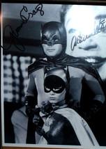 "ADAM WEST & YVONNE DICARLO ""BATMAN & BATGIRL""  8""x10"" AUTOGRAPHED PHOTO ... - $11.00"