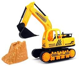 Construction Excavator Truck Children's Kid's Friction Toy Truck Ready T... - $45.77