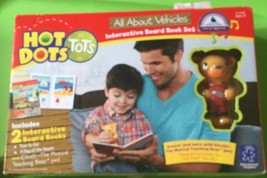 Educational Insights Hot Dots Tots All About Vehicles Interactive Board ... - $23.75