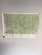 Vintage USGS 1972 Phenix City, Alabama Topographic Map 1-1 - $24.74