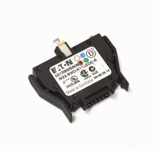 New Eaton M22-SWD-K11LEDC-R Switch Contact Block 1 Pole - $34.99