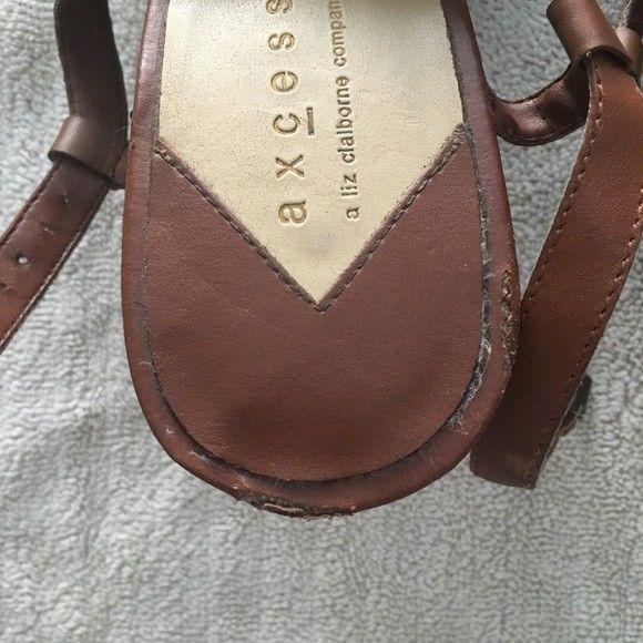 Liz Claiborne Leather Sandals Women's 11 M