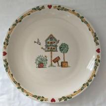 Thomson Pottery Birdhouse Hearts Chop Plate Serving Platter Charger Farm... - $26.99