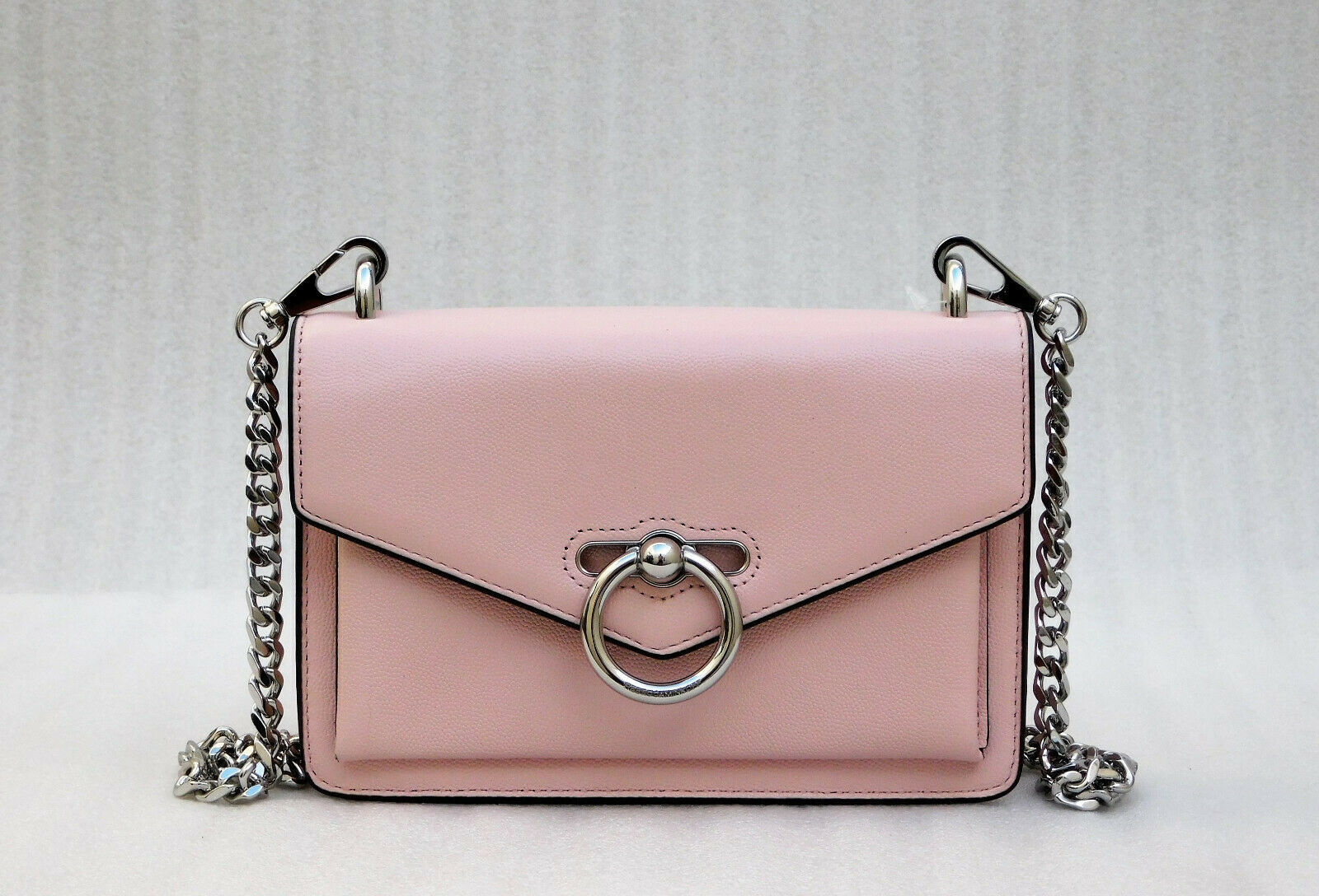 Primary image for Rebecca Minkoff Jean Leather Crossbody Bag - Pink (Retail price - $198)