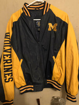 University Michigan Wolverines Steve & Barry's Varsity Jacket Medium RARE 670505 - $24.74
