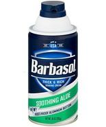 Barbasol Soothing Aloe Thick & Rich Shaving Cream 10 Oz - $7.10