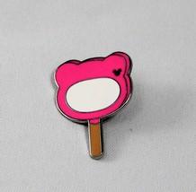 Disney Pin 2018 Hidden Mickey Disneyland Hong Kong Pink Ice Cream Lolly Bar Ears - $5.86