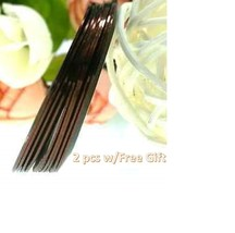 AB9: 2PCS COFFEE Rolls Striping Tape Line Nail Tips Sticker DIY w/Free Gift - $1.89