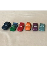 Disney Pixar Cars Lot of 6 Figures Non Moving Cars Toys Cake Toppers Set - $5.99
