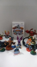 Skylanders Giants Lot of 11 Figures, Two Portal of Power & Game 2012 Act... - $46.00