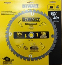 "Dewalt DW3132A Construction 9-1/4"" x 40Teeth Thin Kerf Saw Blade - $25.74"