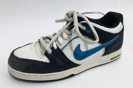 Nike Air Zoom Mens Shoes Size 10 Blue White Retro Sneakers - $19.24