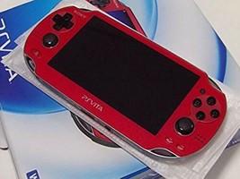 PlayStation PS Vita Wi-Fi Console 1000 Red PS Vita - $216.64 CAD
