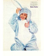 Aaron Carter teen magazine pinup clipping 90's bunny suit Tiger Beat - $3.50