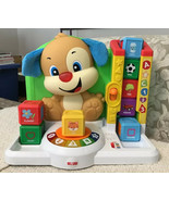 Fisher Price Laugh and Learn First Words Smart Puppy - FFN33, COMPLETE SET - $28.49