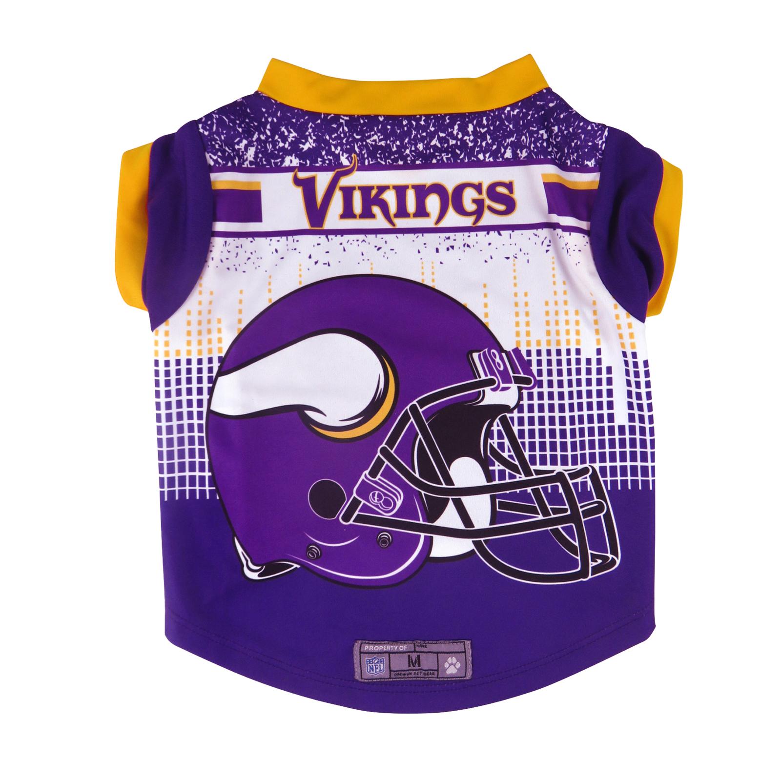 Minnesota Vikings Pet Performance Tee Shirt Size L**Free Shipping** - $25.40
