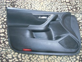 2014 NISSAN ALTIMA LEFT FRONT DOOR TRIM PANEL